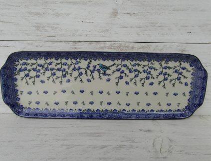 Serveerschalen 416 Stokbrood/serveerschaal Ivy Bird  1935X  41,5/14,5cm